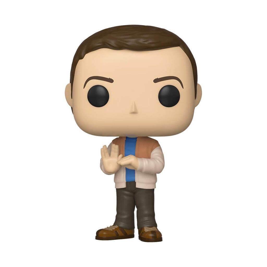 Funko Pop Sheldon Cooper The Big Bang Theory Boneco Colecionável Original