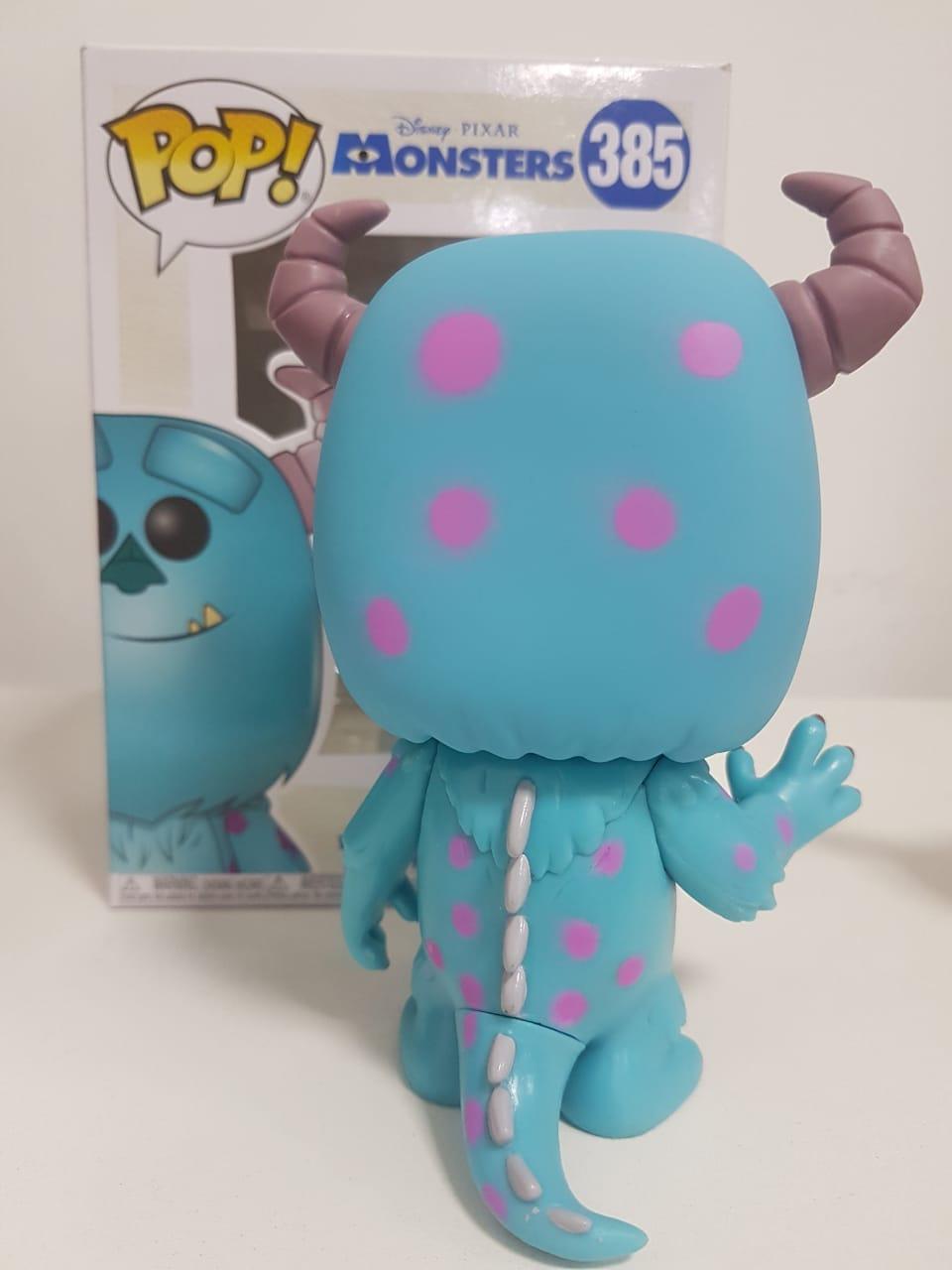 Funko Pop Sulley Monstros S.A Disney Pixar Boneco Colecionável