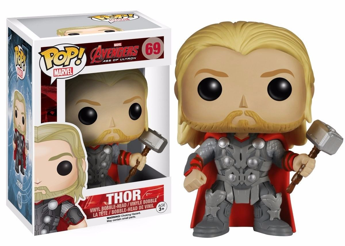 Funko Pop Thor Avengers Marvel Boneco Colecionável