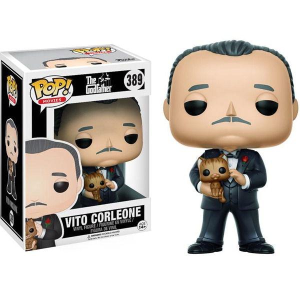 Funko Pop Vito Corleone Filme O Poderoso Chefão Boneco Colecionável