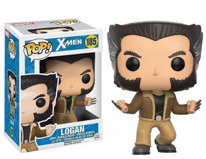 Funko Pop X-men Logan (Wolverine) Boneco Colecionável Original