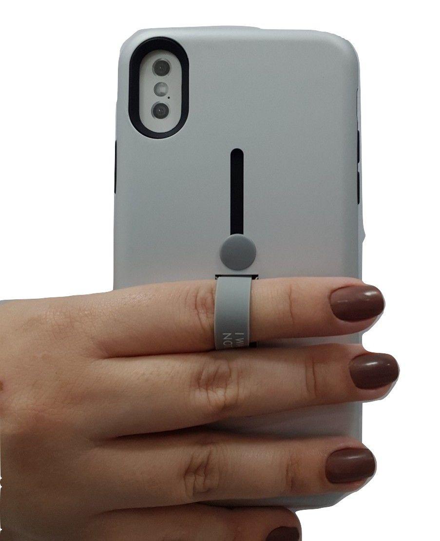 Capa para iPhone X 10 Anti Impacto e Choque com Suporte