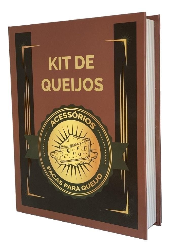 Jogo Utensílios Para Queijo Facas Espátula Garfo Kit Decorativo
