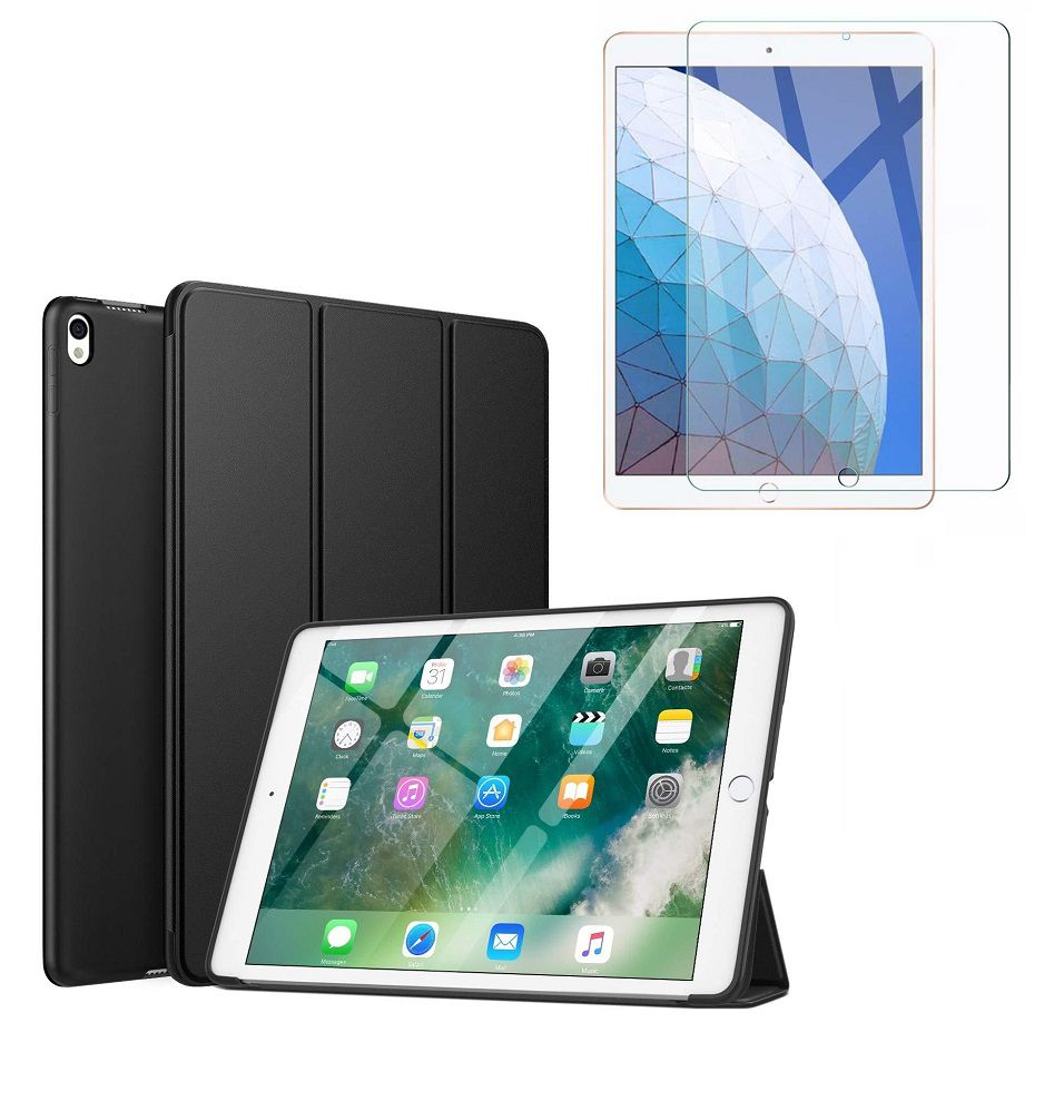 Kit Capa Ipad Air 3 10.5 Smart Case + Película de Vidro A2152 A2123 A2154