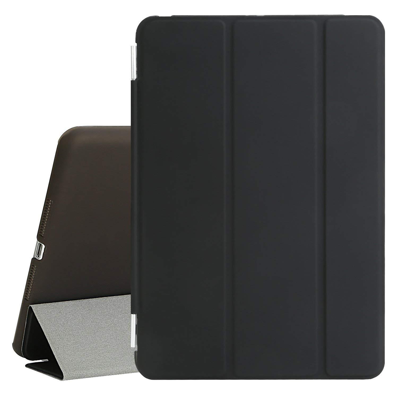 Kit Capa Ipad Mini 123 Apple Smart Case Preta + Película de Vidro