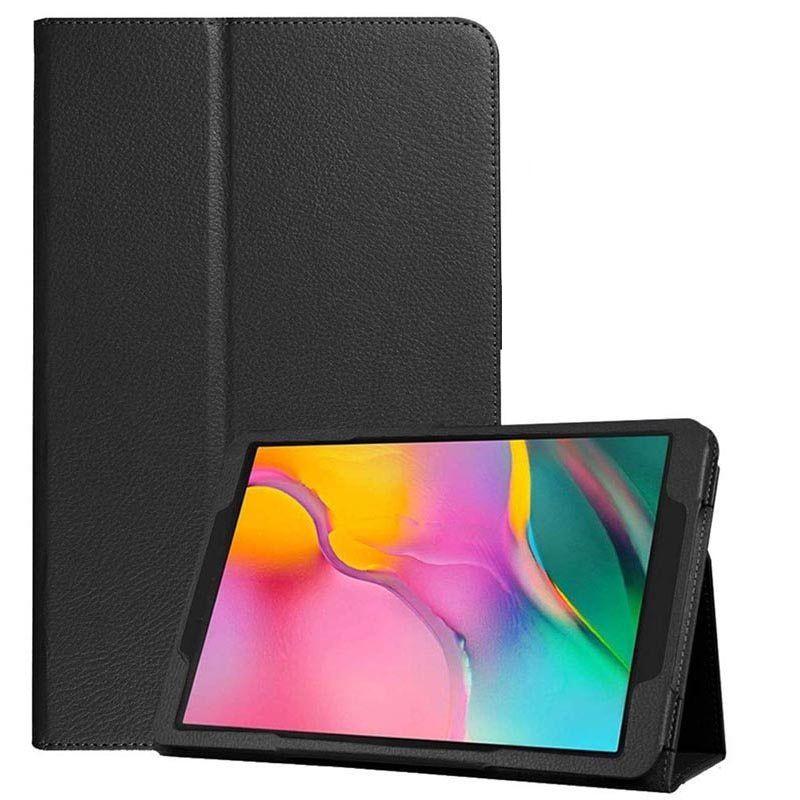 Kit Capa Tablet Galaxy Tab A 10.1 T510 T515 Pasta Magnética + Película de Vidro