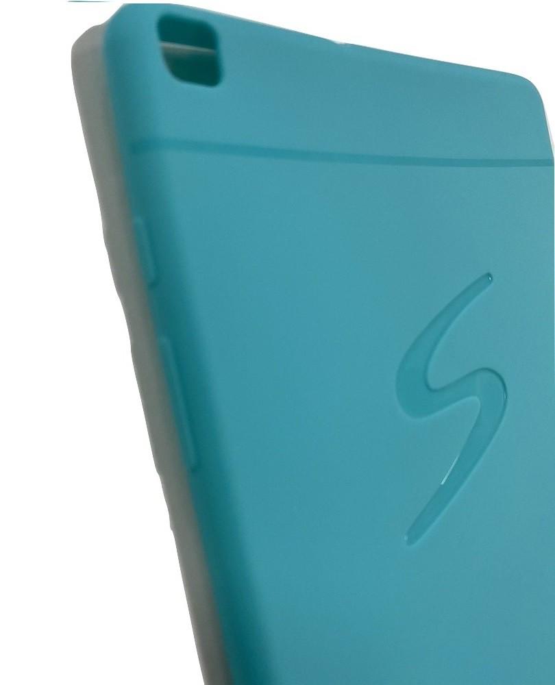 Kit Capa Tablet Samsung Galaxy Tab A 8 T290 T295 Silicone Azul + Vidro