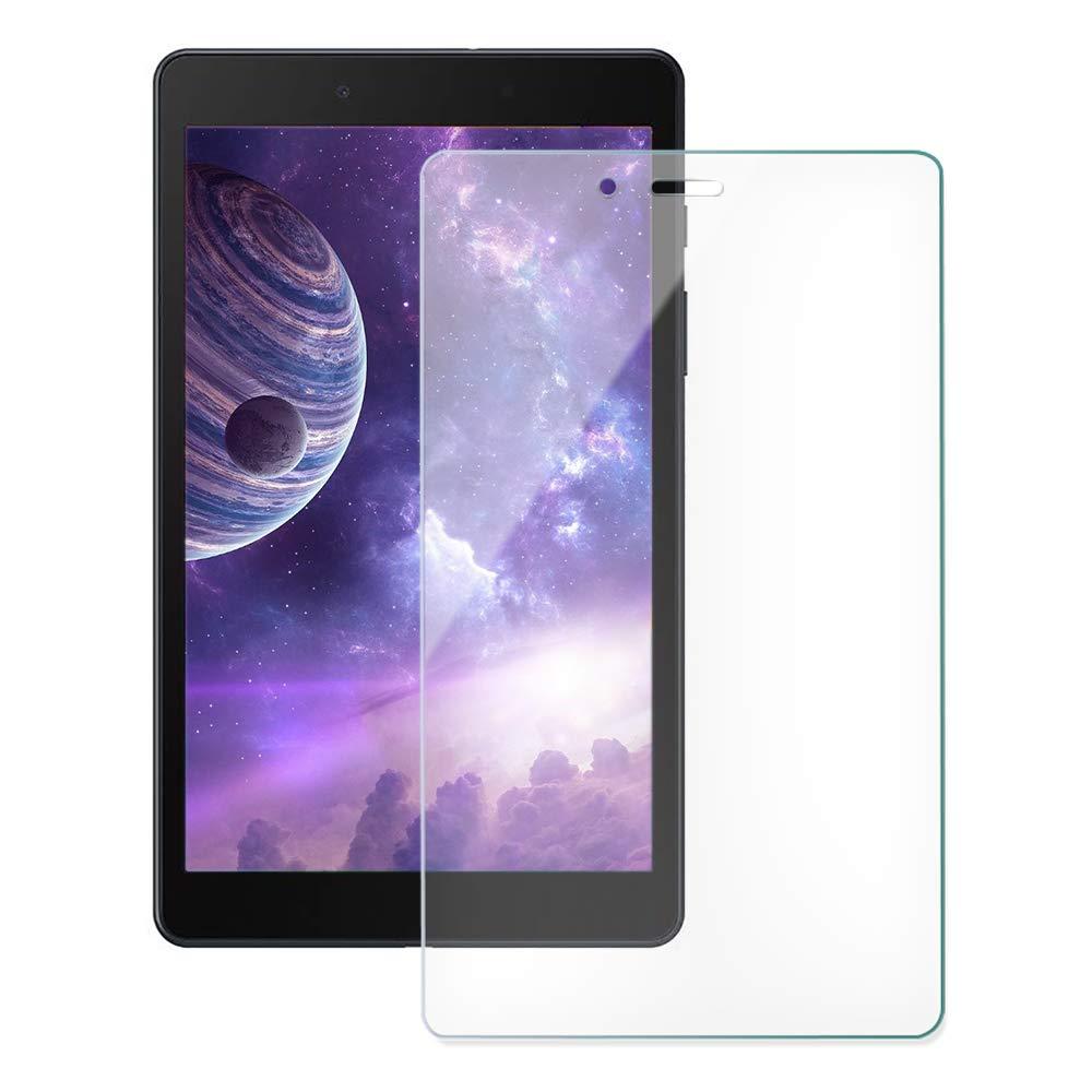 Kit Capa Tablet Samsung Galaxy Tab A 8 T290 T295 Silicone Rosa + Vidro