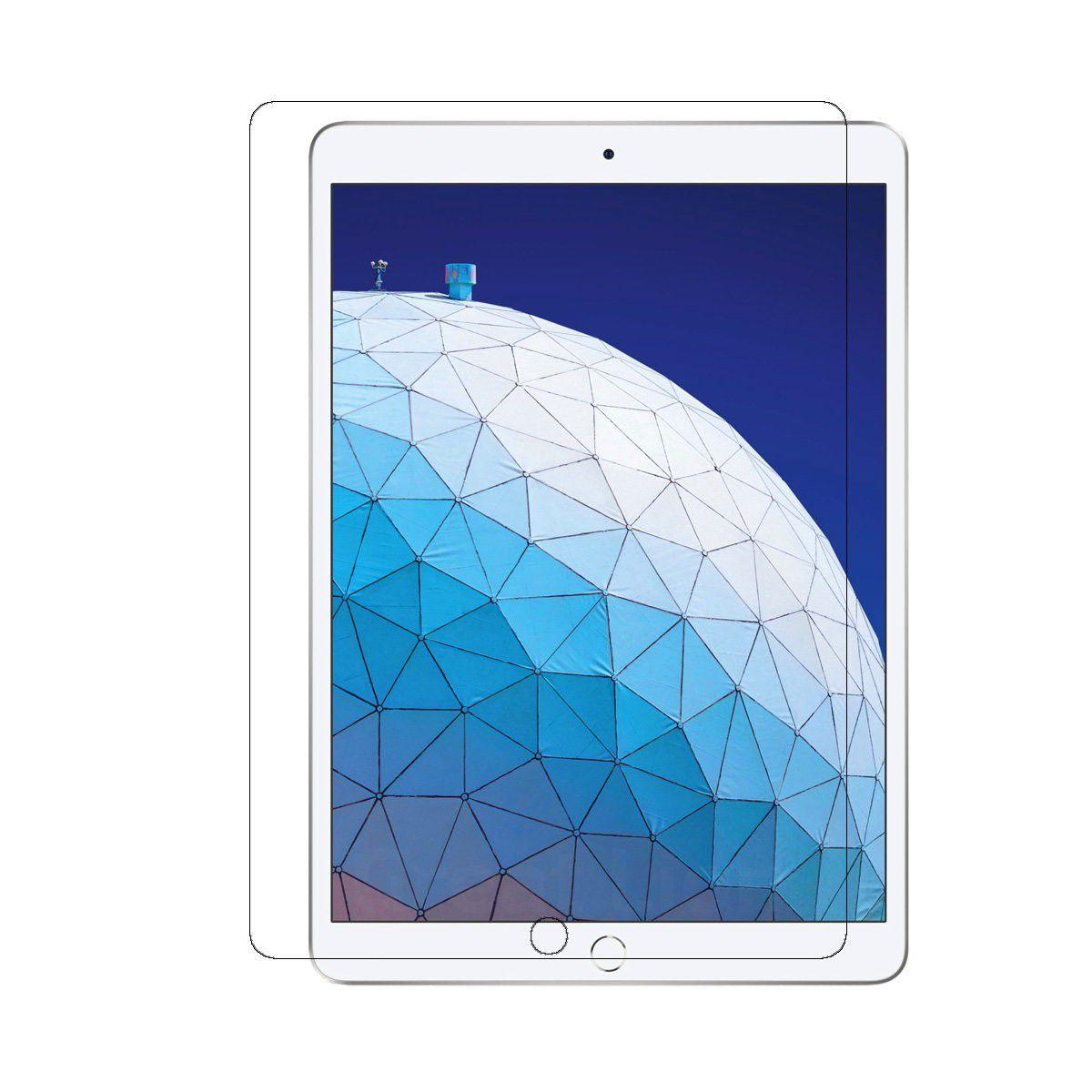 Kit Smart Case Ipad 7 Tela 10.2 A2197 A2198 A2199 Preta + Película de Vidro