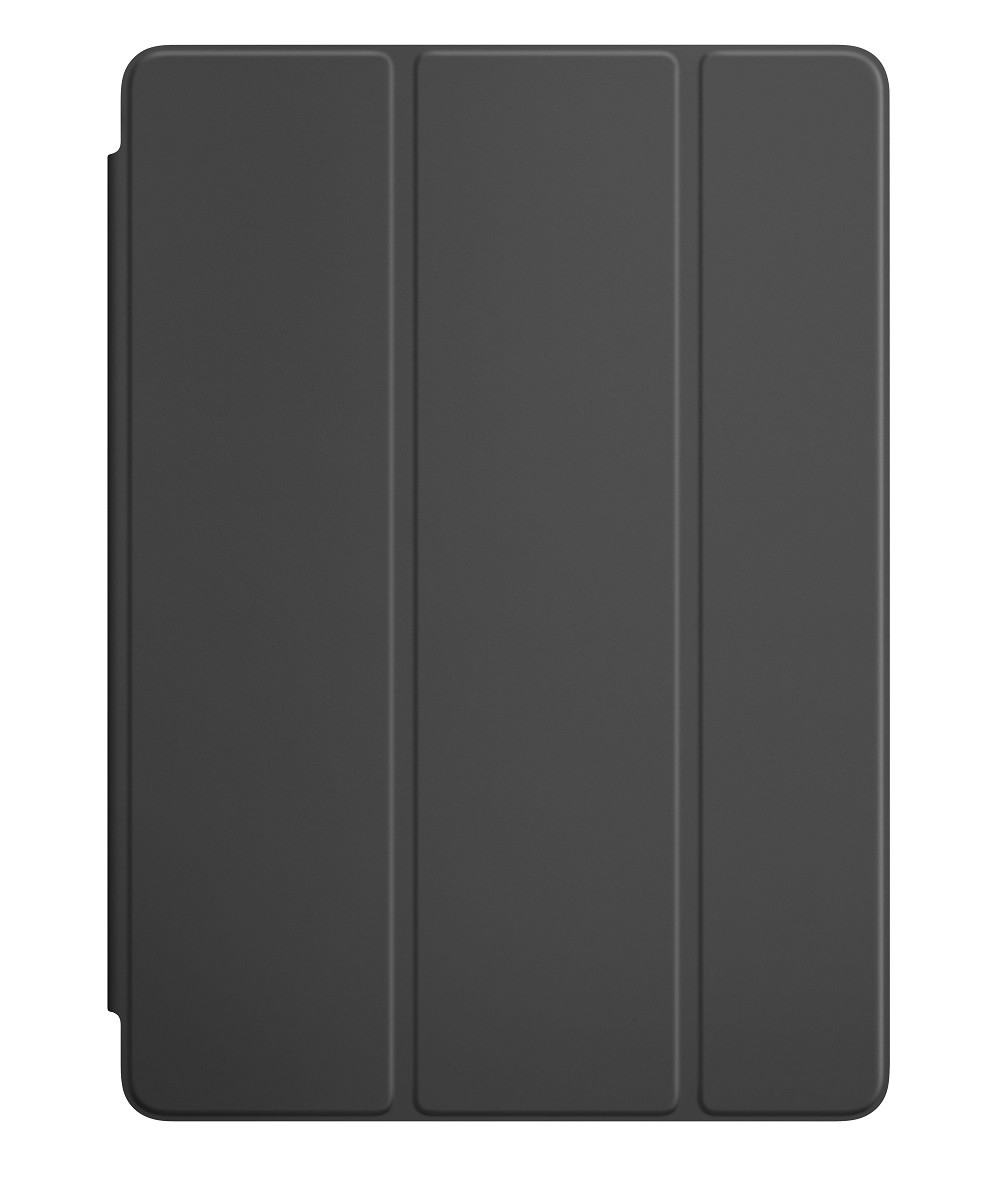 Kit Smart Case Ipad 8 Tela 10.2 A2270 Preta + Película de Vidro