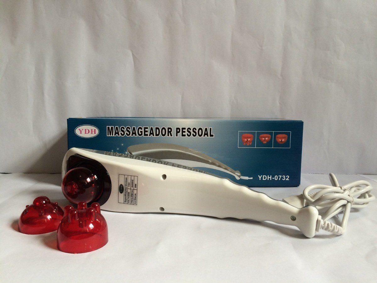Massageador Elétrico Corporal Infravermelho Formato Tubarão
