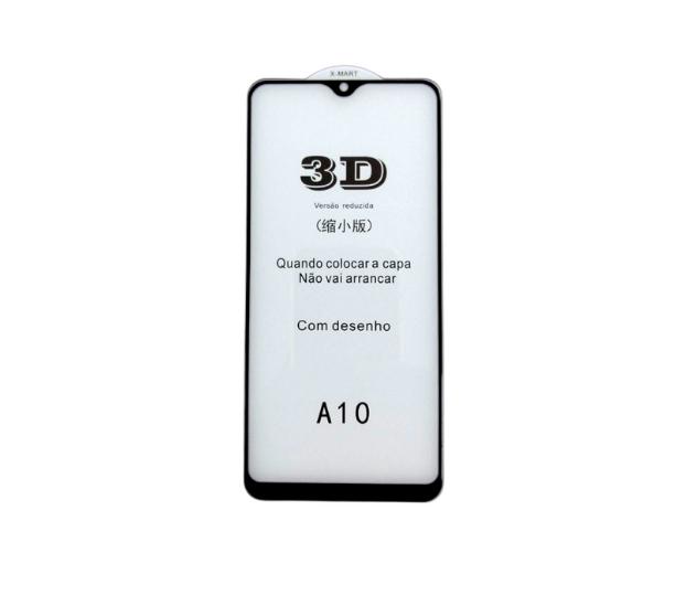 Película de Vidro 3D Smartphone Samsung Galaxy A10 A10s M10