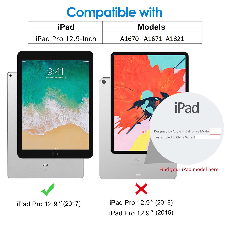 Película de Vidro Ipad Pro 12.9 Apple 2017 A1670 A1671 A1821 Anti Impacto