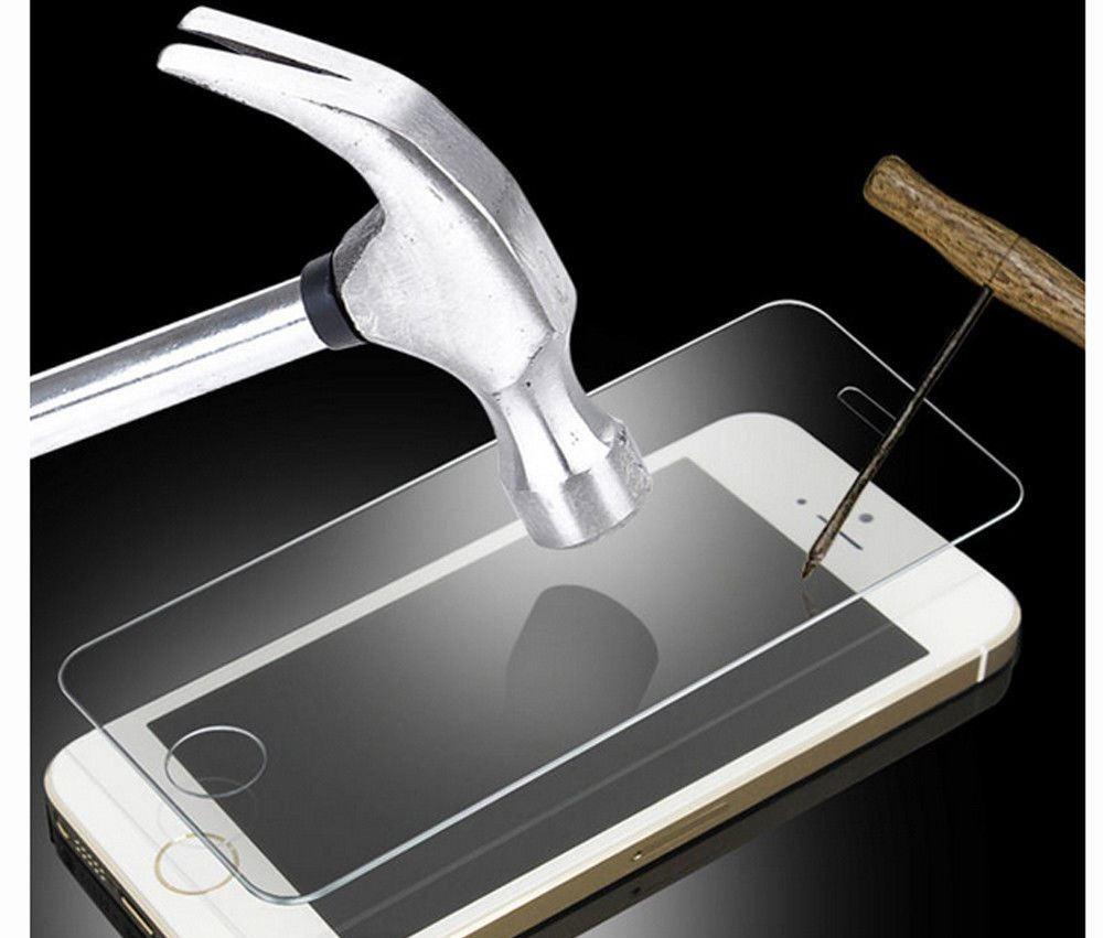 Película de Vidro Iphone 5 5s Apple Proteção Tela Anti Choque