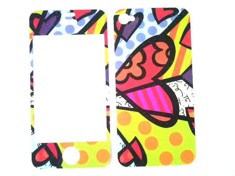 Película Skin Iphone 4 4s Apple Romero Britto