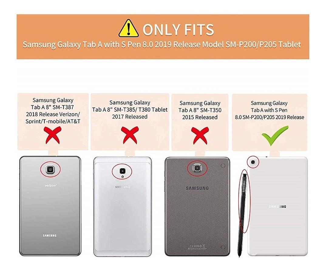 Película Tablet Samsung Galaxy Tab A S Pen 2019 SM P205 P200 Vidro Temperado
