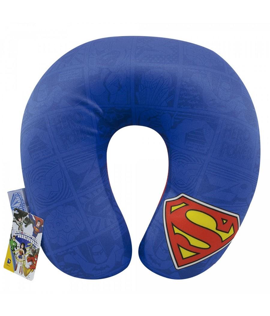Pescoceira Apoio de Pescoço Superman - Liga da Justiça
