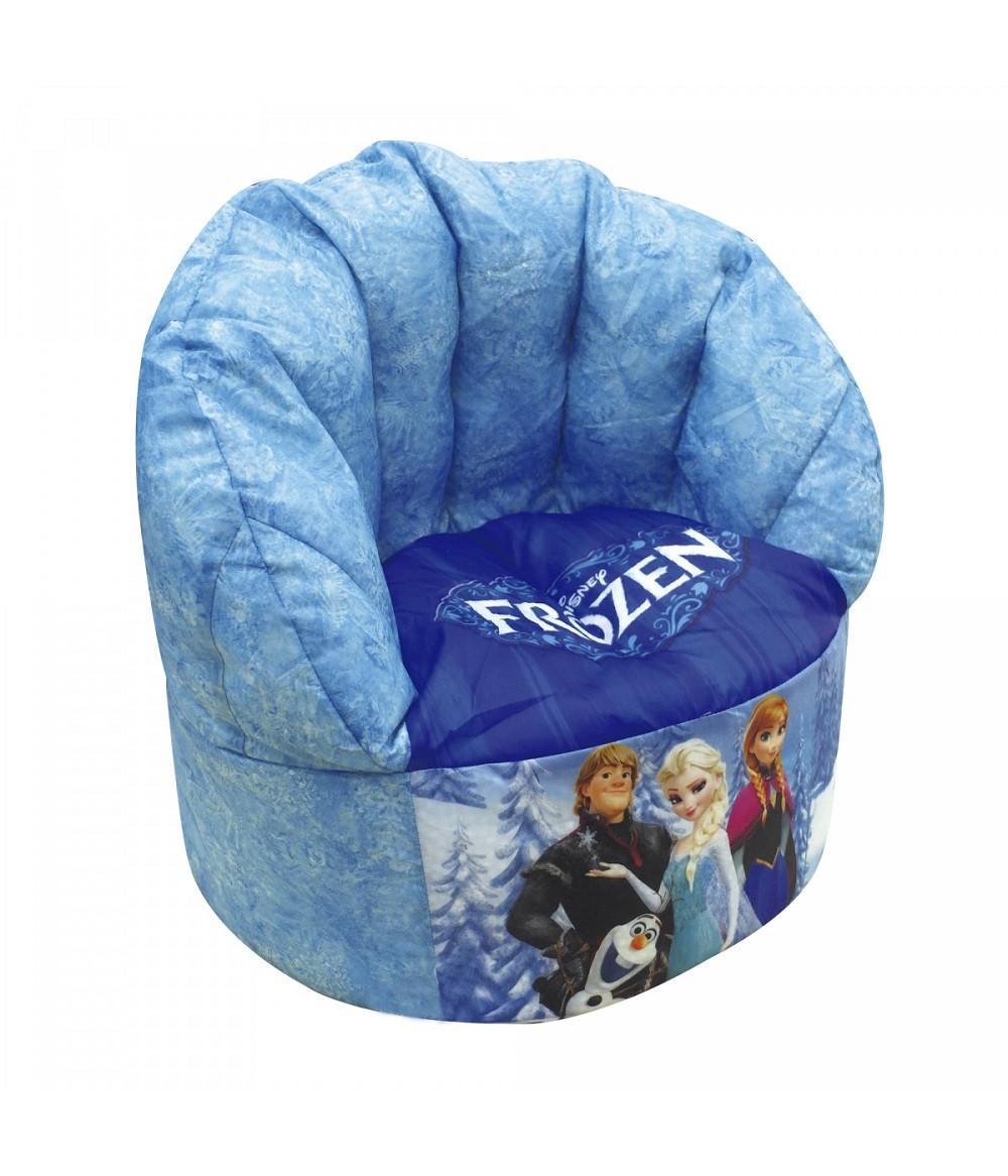 Poltrona Cadeira Disney Frozen Anna & Elsa 49cm - Azul