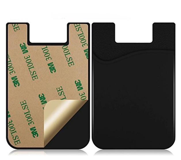 Carteira Autocolante para celular Porta cartão Iphone Samsung Xiaomi Motorola