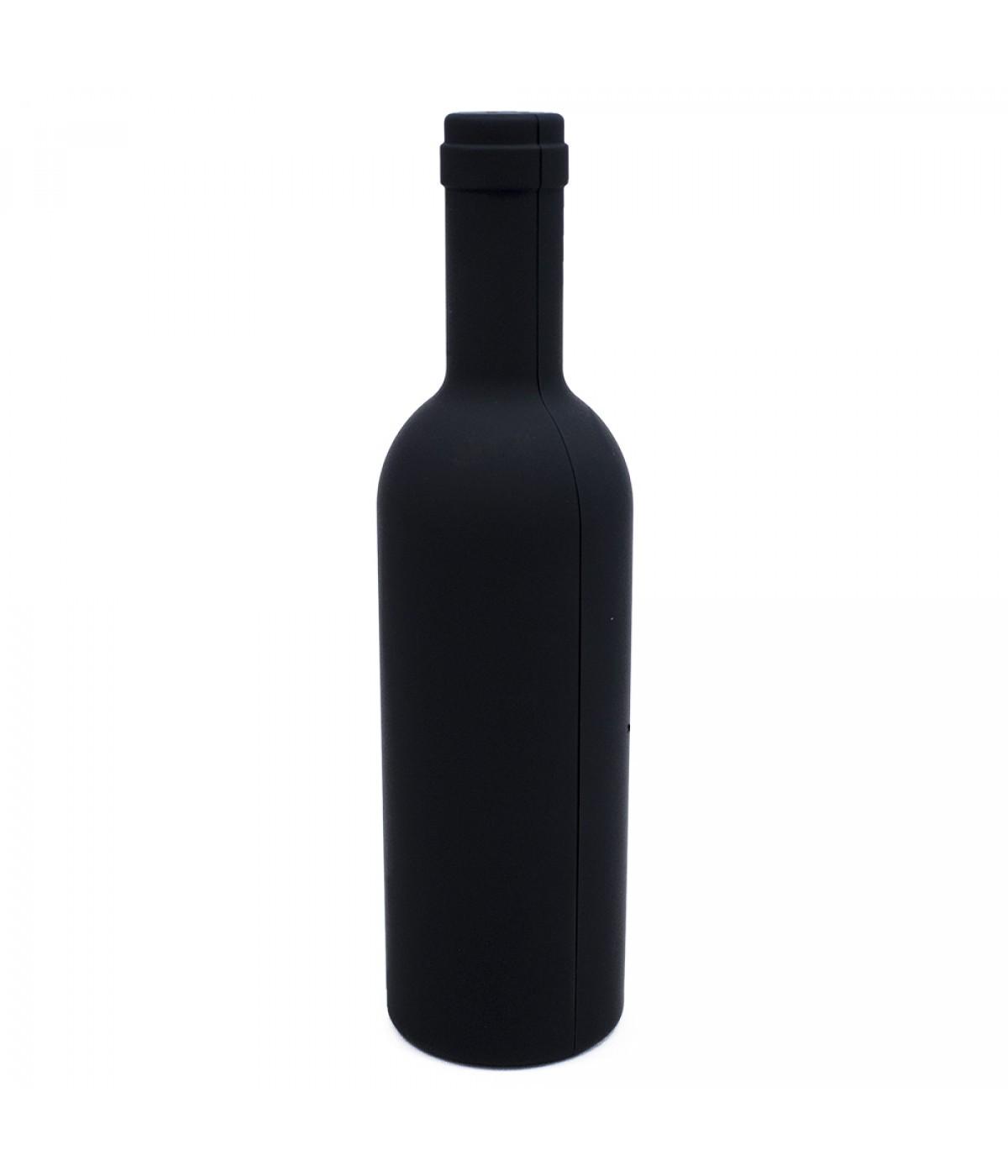 Porta Utensílios Kit para Vinho Formato de Garrafa
