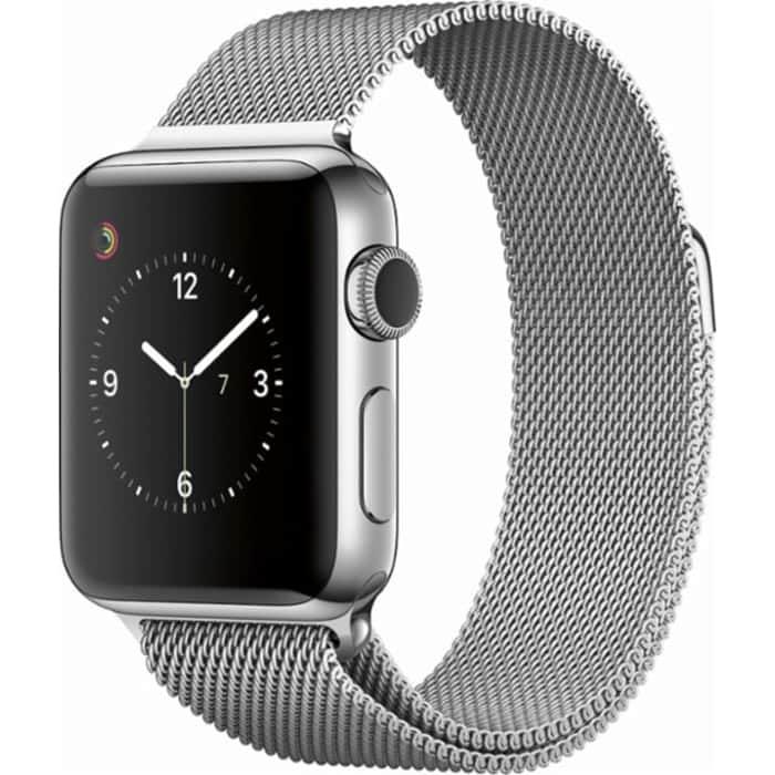 Pulseira Apple Watch Series 5 Metal Prateada Cor Prata 42mm 44mm