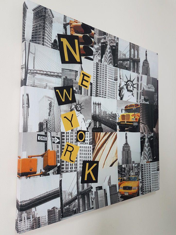 Quadro Decorativo Casa e Escritório New York - Nova Iorque