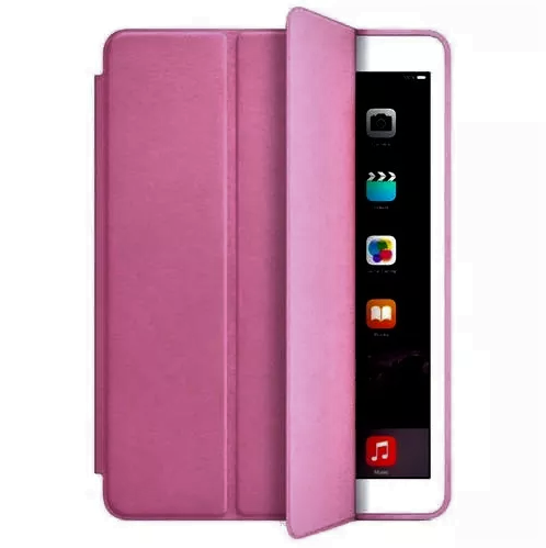 Smart Case Ipad 6 Premium 2018 Apple A1893 A1954 (6º geração) Rosa Escuro