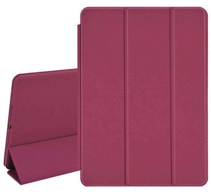 Smart Case Ipad 6 Tela 9.7 A1893 A1954 6º geração Rosa Escuro