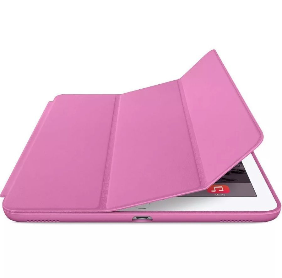 Smart Case Ipad 6 Tela 9.7 Apple A1893 A1954 6º geração Rosa Médio