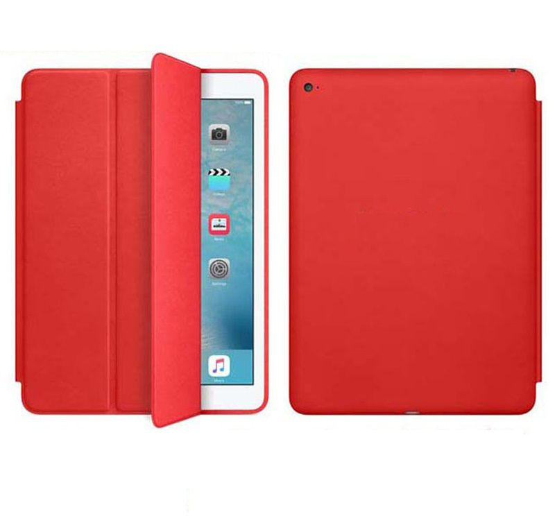 Smart Case Ipad 9.7 2018 Apple A1893 A1954 (6º geração) Ipad 6 Vermelha