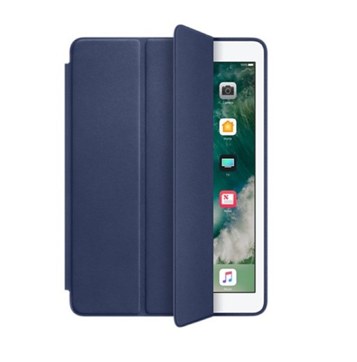 Smart Case Ipad 7 Tela 10.2 Ano 2019 A2197 A2198 A2199 Azul Marinho