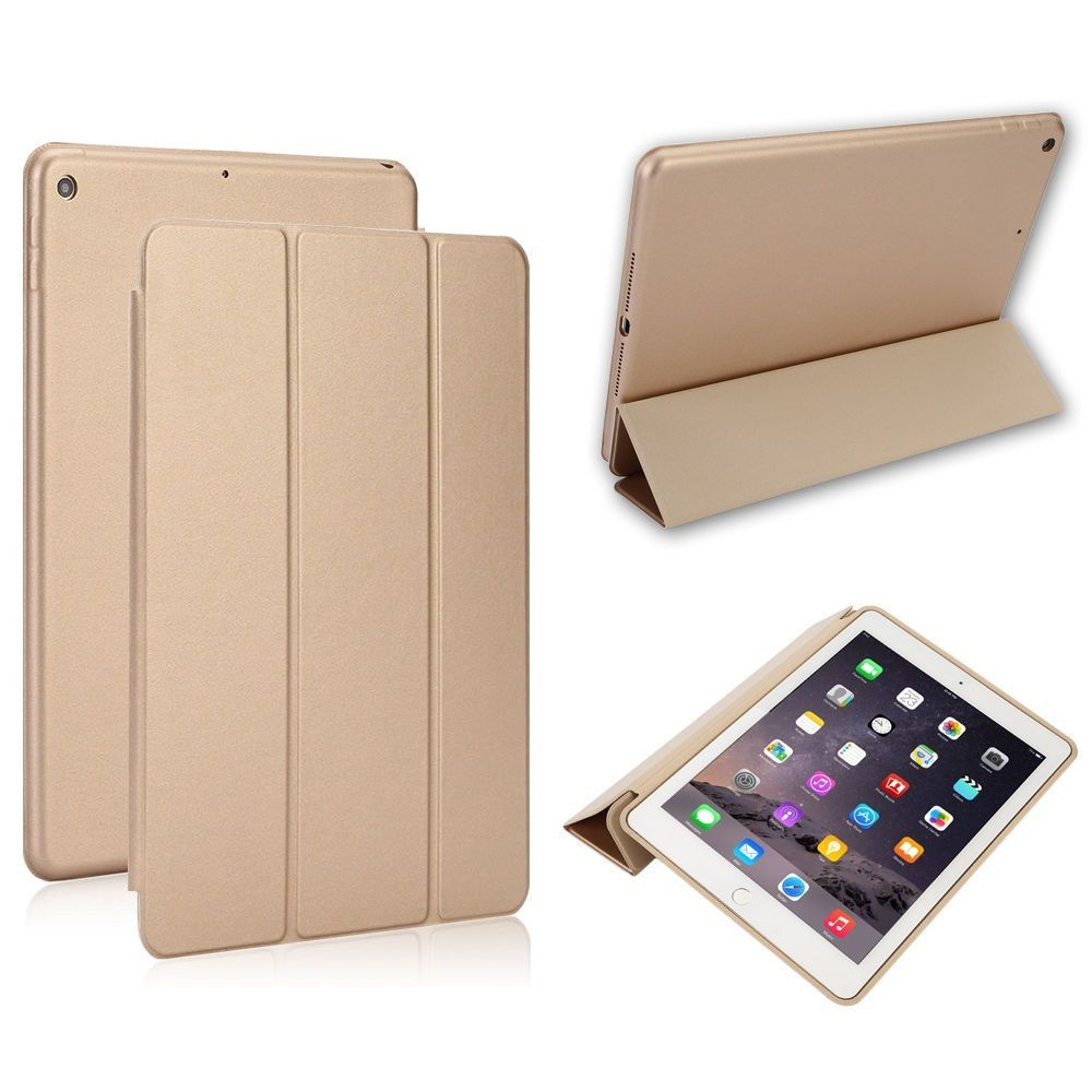 Smart Case Ipad 7 Tela 10.2 Ano 2019 A2197 A2198 A2199 Dourada Gold