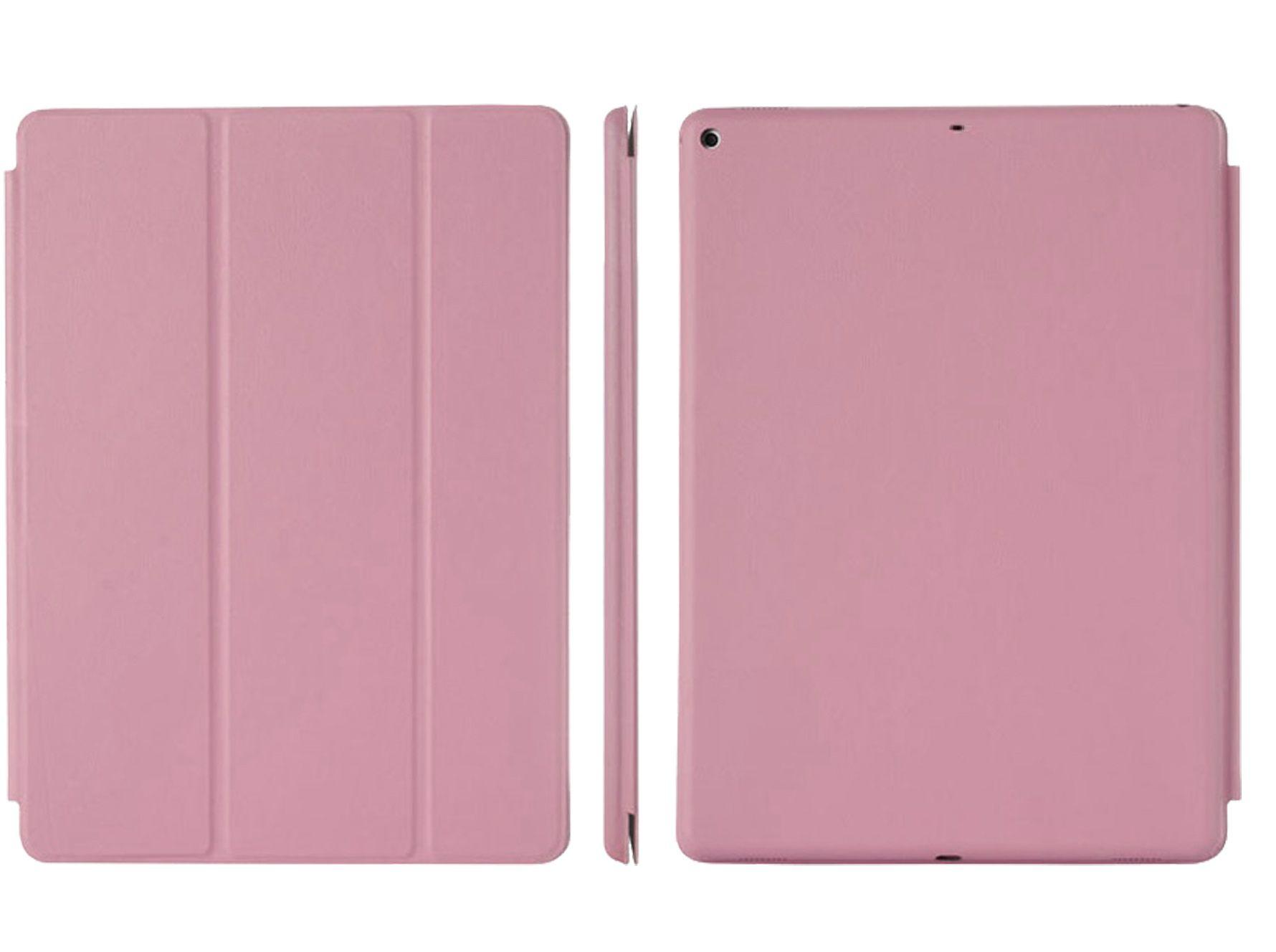 Smart Case Ipad 7 Tela 10.2 Ano 2019 A2197 A2198 A2199 Rosa Médio