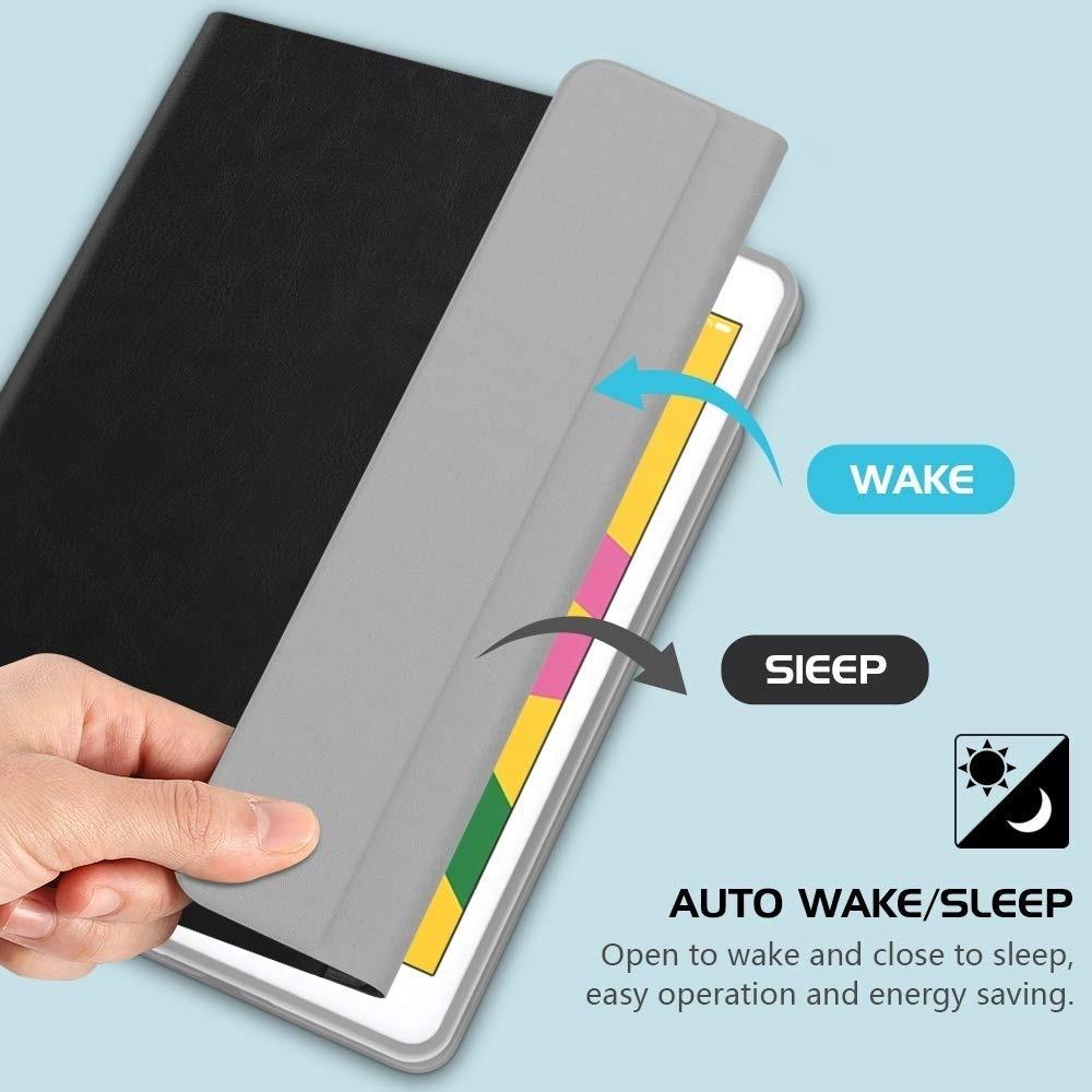 Smart Case Ipad 8 Tela 10.2 Ano 2020 A2270 Magnética Slim Preta