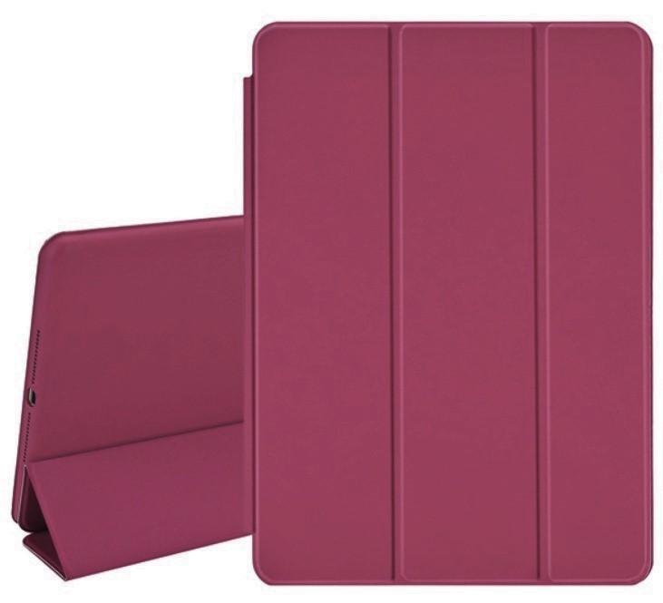 Smart Case Ipad 8 Tela 10.2 Model A2270 Magnética Rosa Escuro