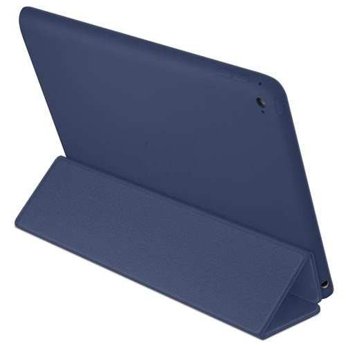 Smart Case Premium Ipad 9.7 Apple 2017 A1822 A1823 Sensor Sleep Azul Marinho