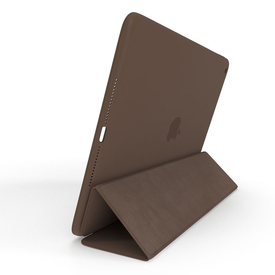 Smart Case Ipad Air 2 Apple A1566 A1567 A1568 Magnética Marrom Brown