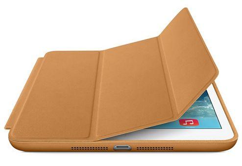Smart Case Ipad Mini 1 2 3 Apple Sensor Sleep Poliuretano Caramelo