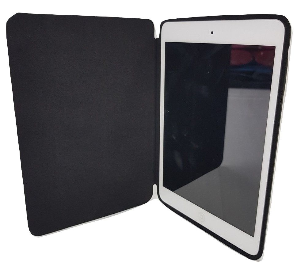 Smart Case Ipad Mini 1 2 3 Apple Sensor Sleep Poliuretano Preta