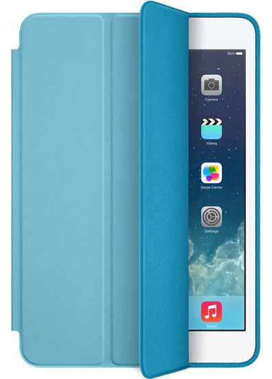 Smart Case Ipad Mini 1 2 3 Apple Sensor Sleep Premium Azul Claro