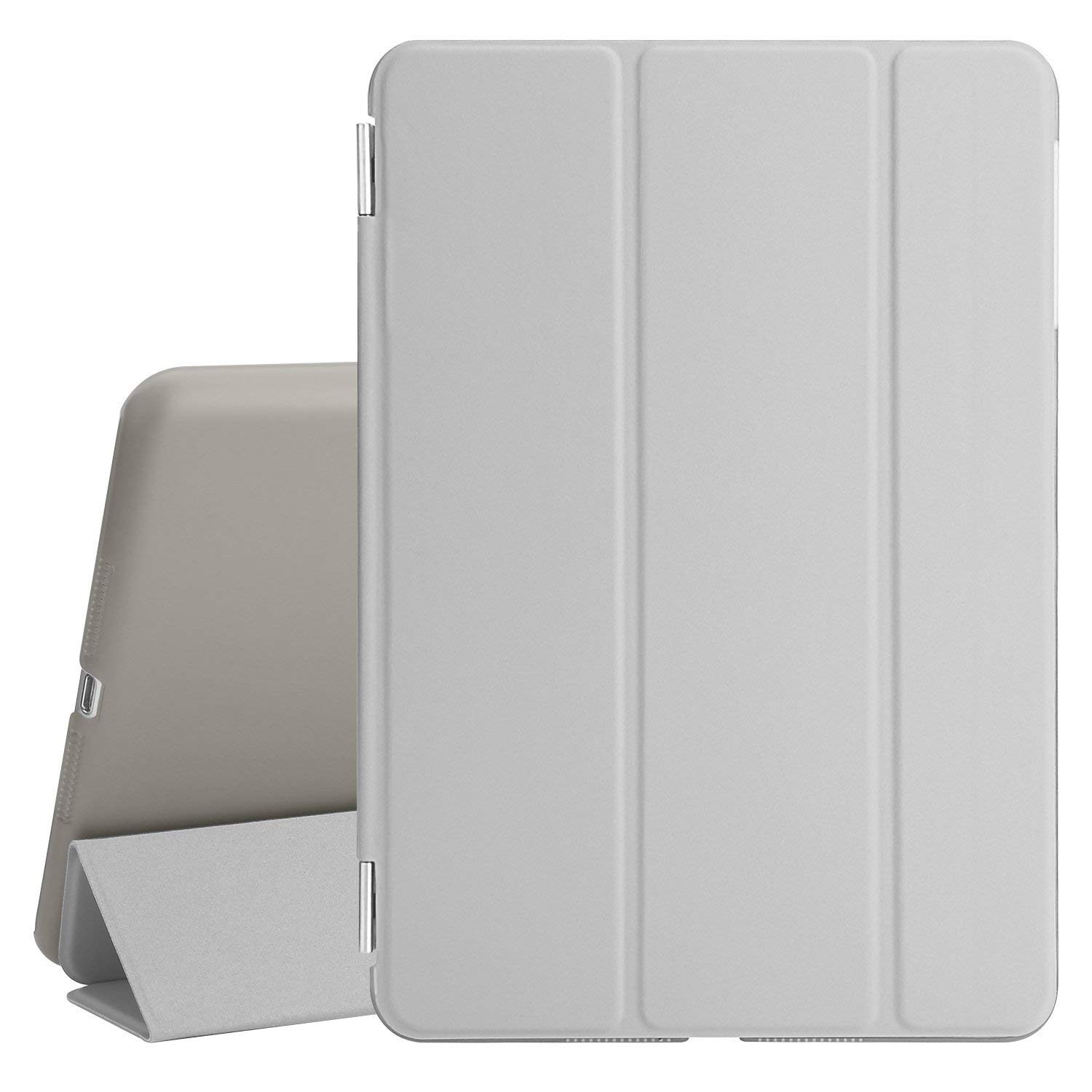 Smart Case Ipad Mini 4 Magnética Frontal + Traseira A1550 A1538 Cinza
