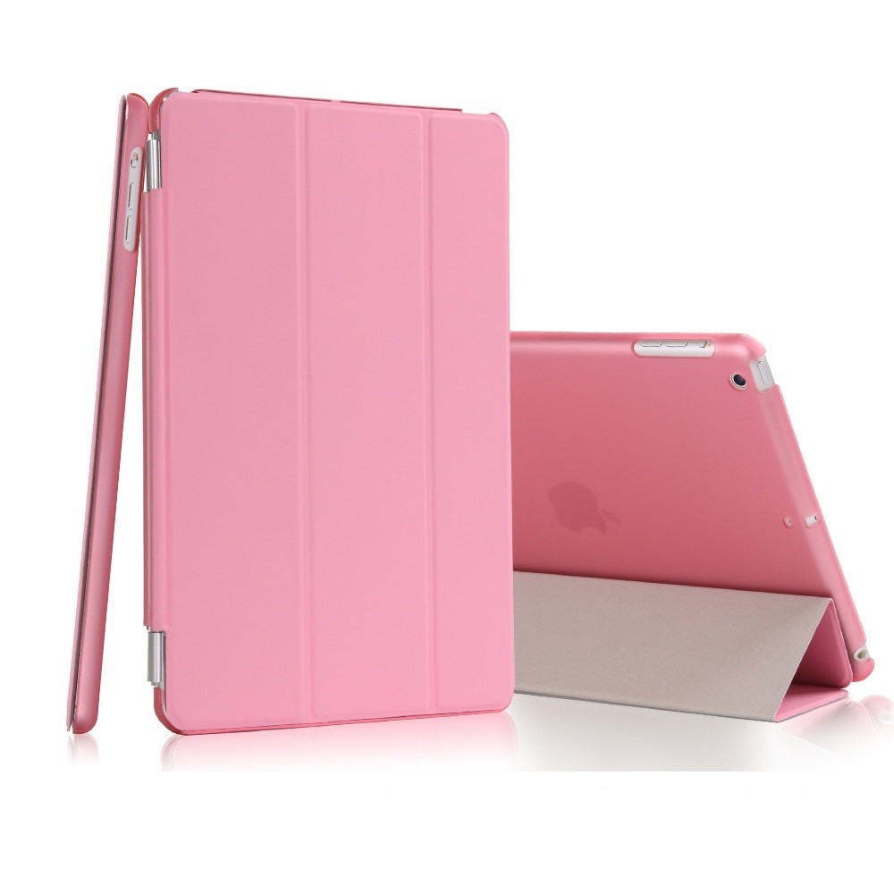 Smart Case Ipad Mini 4 Magnética Frontal + Traseira A1550 A1538 Rosa