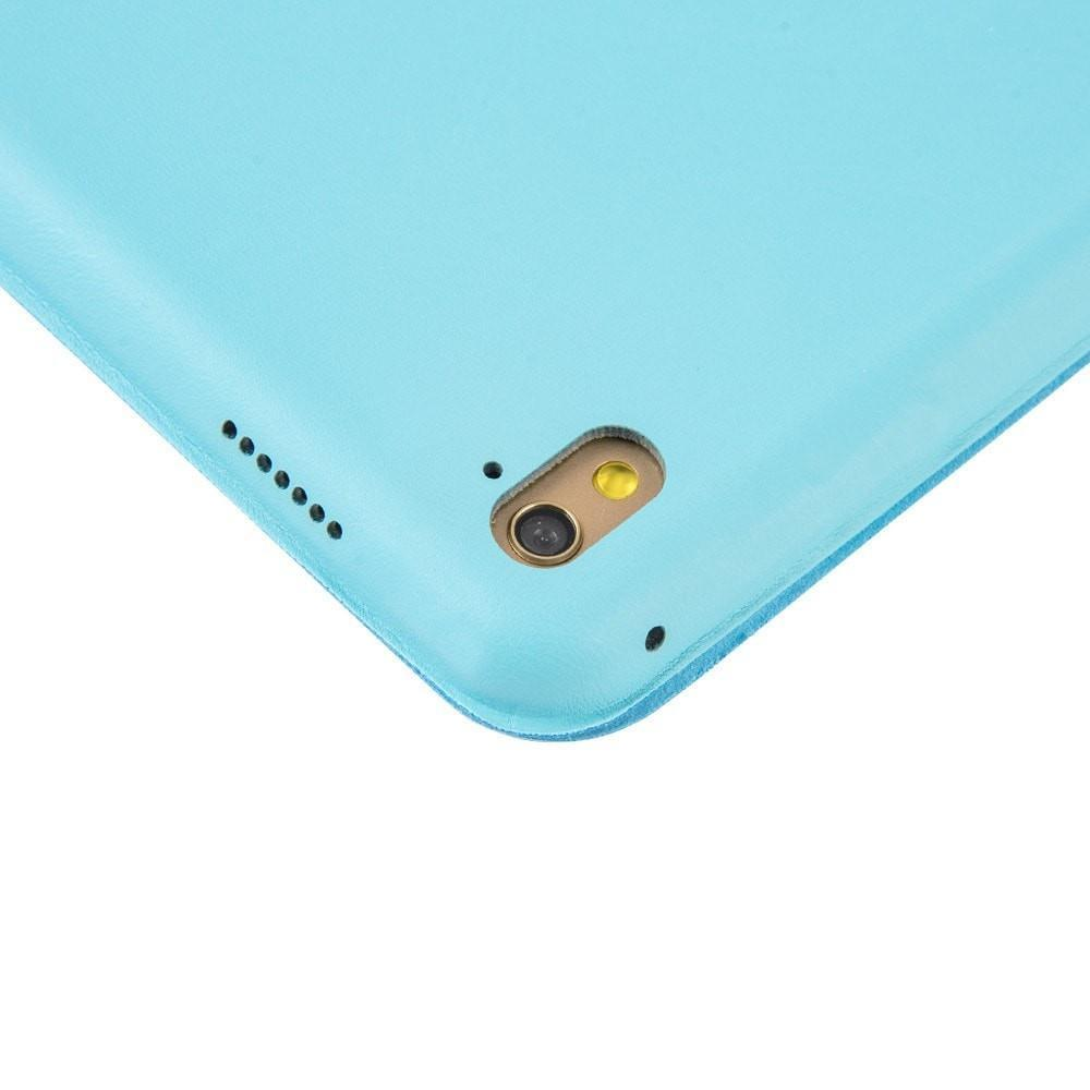 Smart Case Ipad Pró 12.9 Apple 2017 A1670 A1671 Sensor Sleep Azul Claro