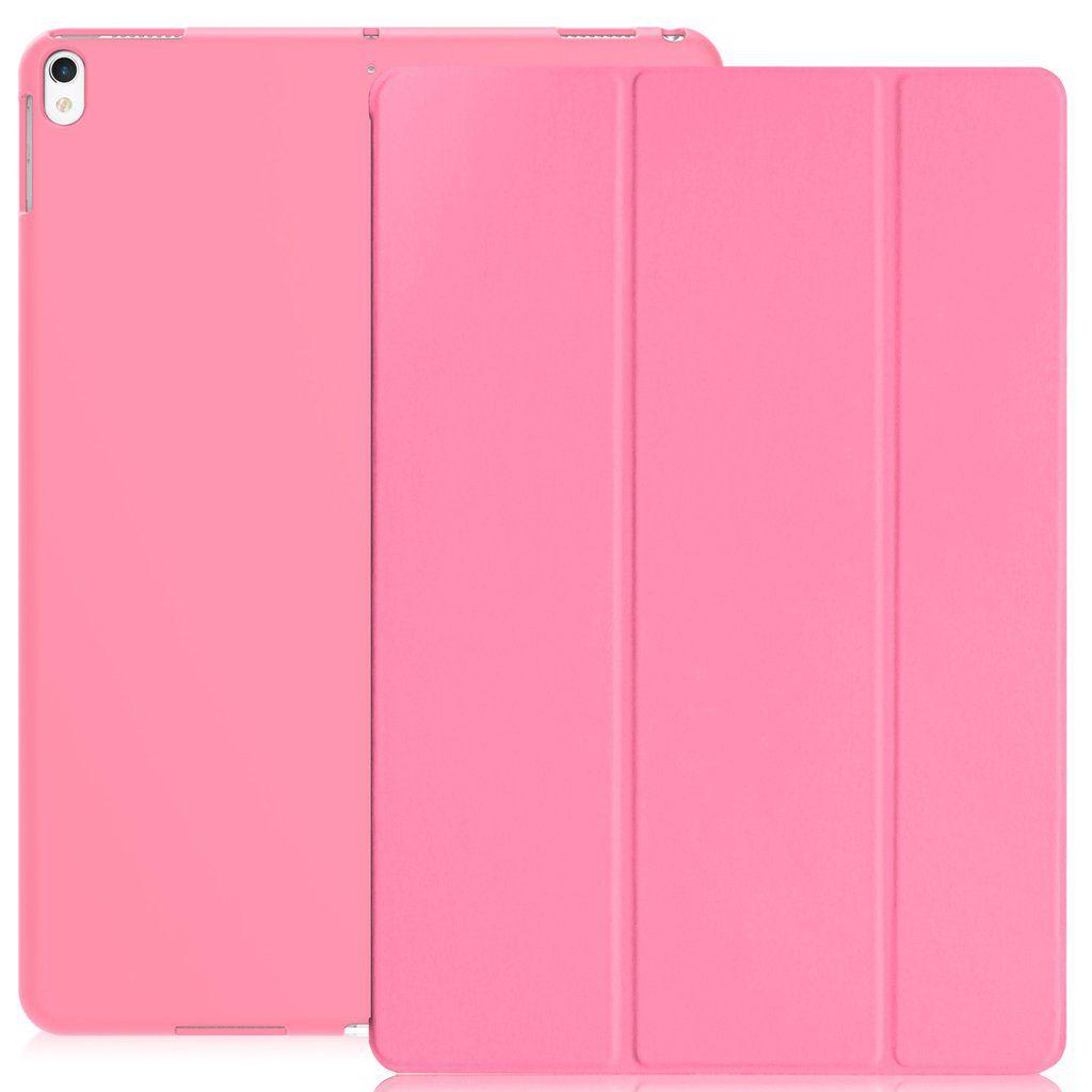 Smart Case Ipad Pró 12.9 Apple 2017 A1670 A1671 Sensor Sleep Rosa
