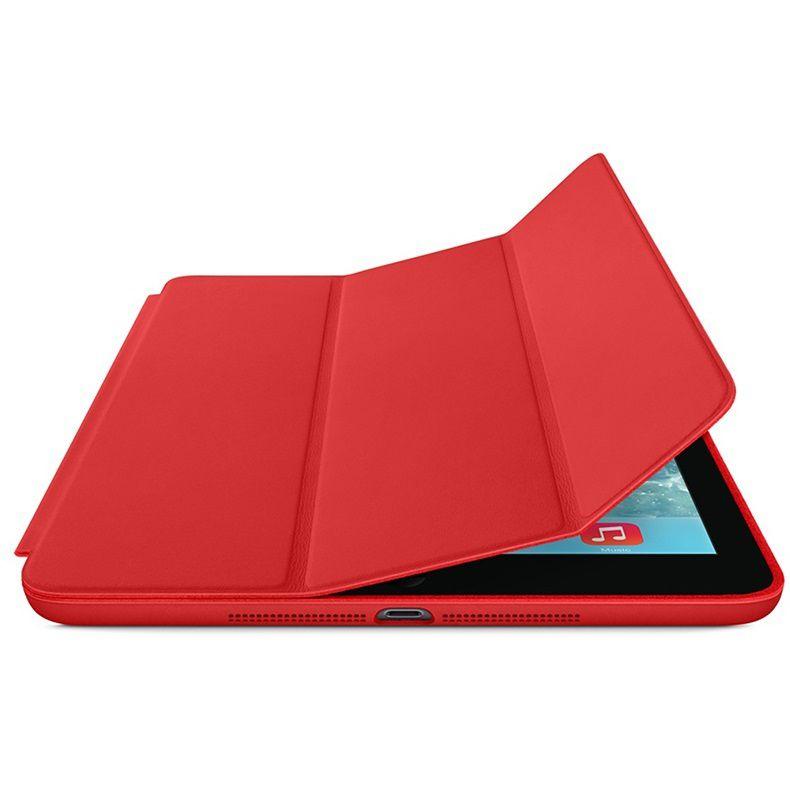 Smart Case Ipad Pró 12.9 Apple 2017 A1670 A1671 Sensor Sleep Vermelha