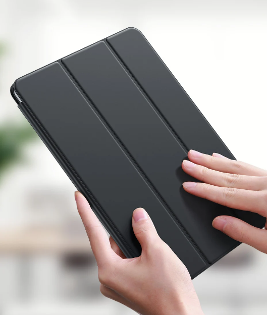 Smart Case Samsung Galaxy Tab A7 10.4 T500 T505 Magnética Slim Preta
