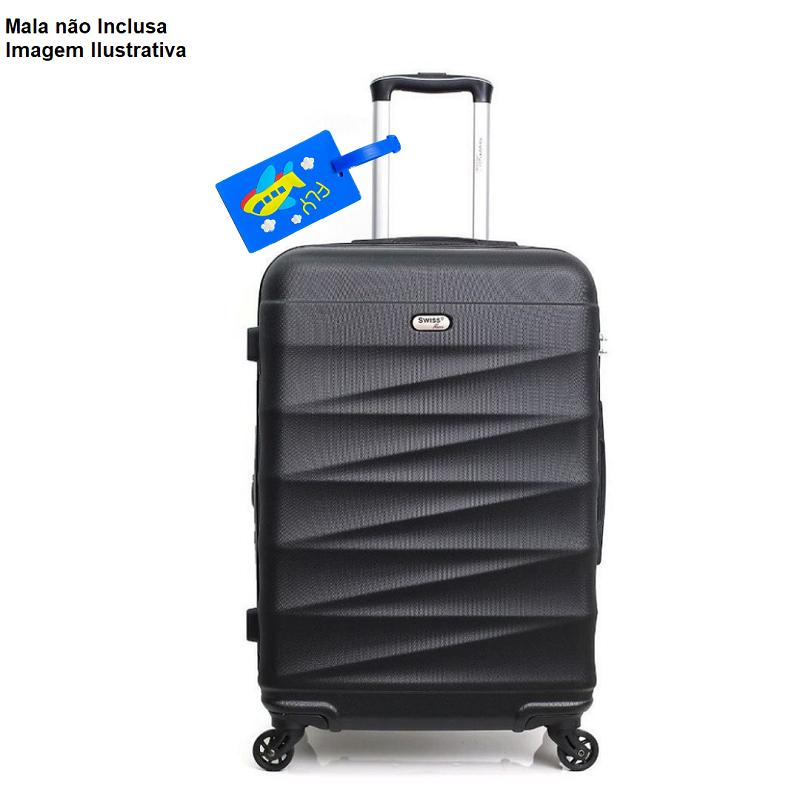 Tag de Mala Etiqueta Identificador de Bagagem Viagem Avião
