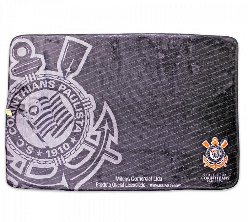 Tapete Time de Futebol Corinthians 40x60 cm