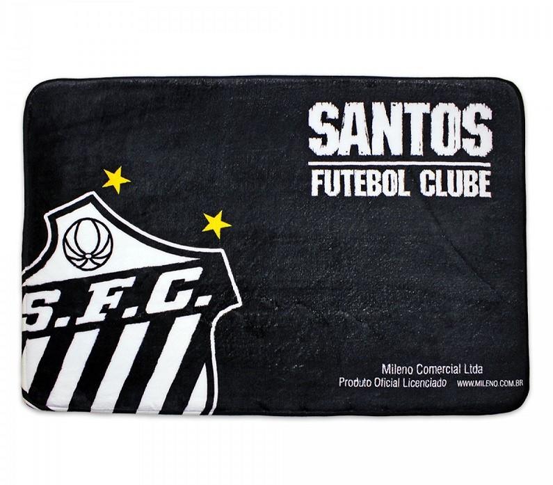 Tapete Time de Futebol Santos 40x60 cm