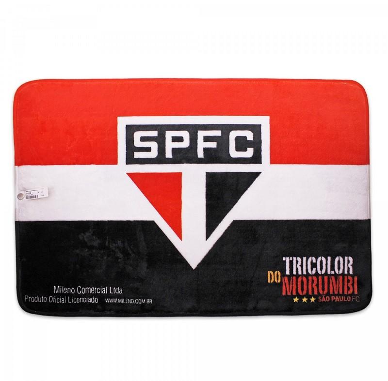 Tapete Time de Futebol São Paulo SPFC 40x60 cm